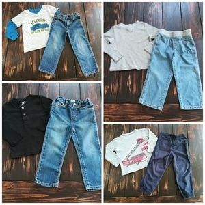 Boys Size 3T Outfits~ Set of 4